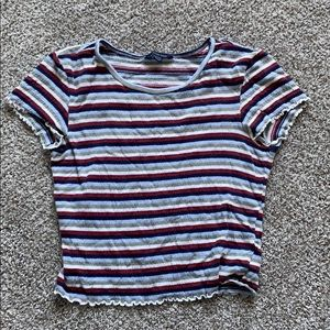 american eagle stripped shirt